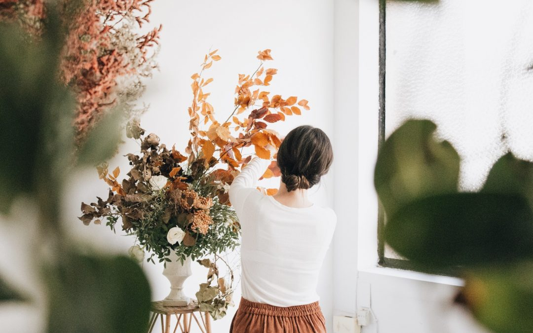 Making of Nice Flowers web fotos